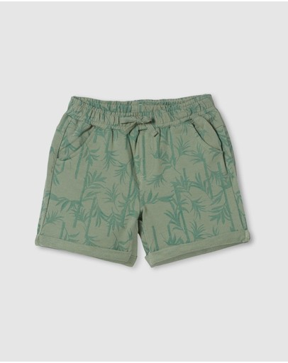 Milky - Palm Track Shorts - Kids
