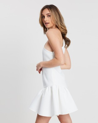 FRIEND of AUDREY Madison One Shoulder Dress - Bodycon Dresses (White)