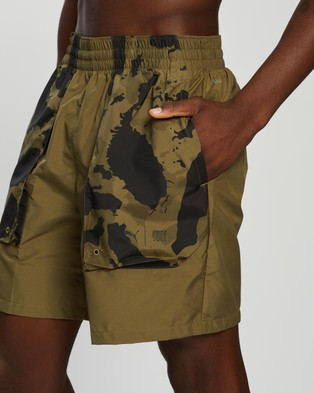 Puma First Mile Woven Running Shorts - Shorts (Burnt Olive)