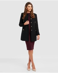 Forcast - Andrea Collarless Coat