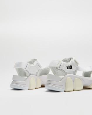 Onitsuka Tiger Dentigre Strap Unisex Casual Shoes White & White