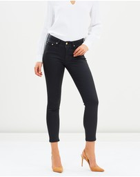 Elvie & Leo - The 7/8 Coated Skinny Jeans