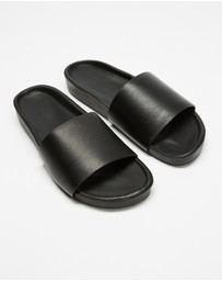Assembly Label - Single Strap Slides - Women's