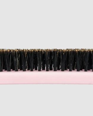 Shhh Silk Boar Bristle Teasing Brush - Beauty (Pink)