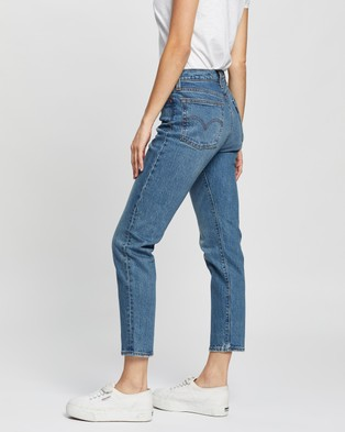 Levi's Wedgie Icon Fit Jeans - Crop (These Dreams)