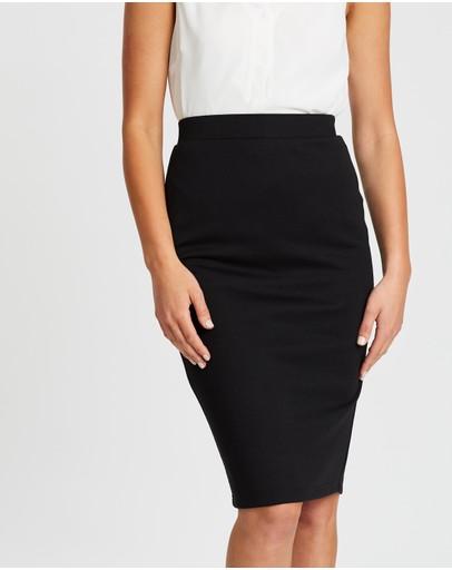 Spurr Pencil Skirt Black