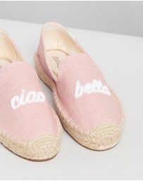 Soludos - Ciao Bella Smoking Slippers