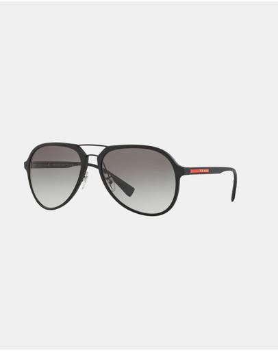 Prada Linea Rossa Ps05rs Black & Grey Gradient