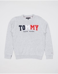 Tommy Hilfiger Kids - Tommy Towelling Sweater - Teen