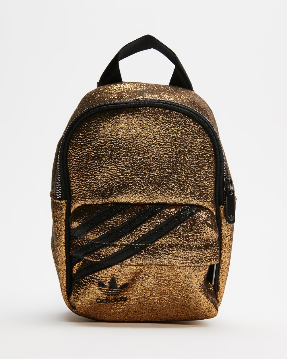 adidas Originals Mini Backpack Backpacks Metallic Gold & Black
