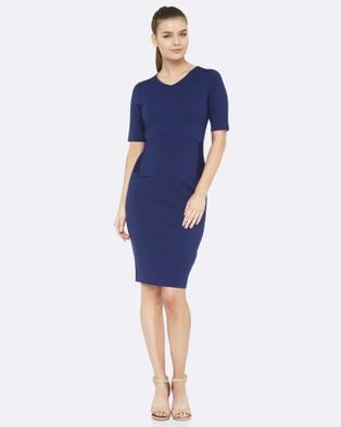 Oxford – Talulah Ponti Dress – Dresses (Blue)