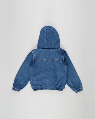 Cotton On Kids Dua Denim Hooded Jacket   Kids Teens - Denim jacket (Weekend Wash)