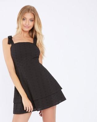 Calli – Heidi Dress Black