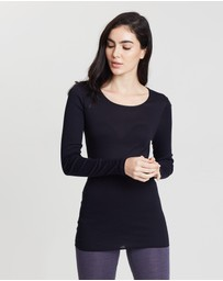 HANRO - Seamless Long Sleeve Shirt