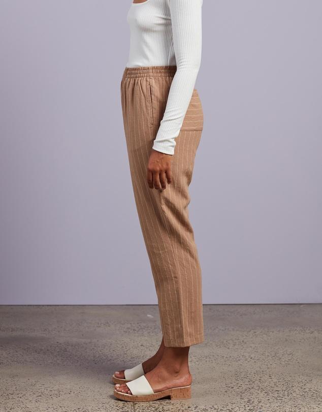 Women Finley Pinstripe Pants