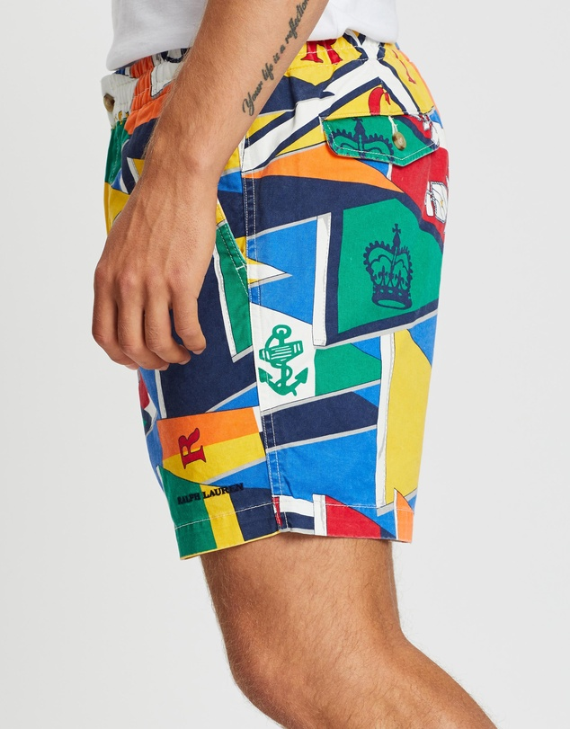 Polo Ralph Lauren - Classic Fit Prepster Flat Cotton Stretch Twill Shorts