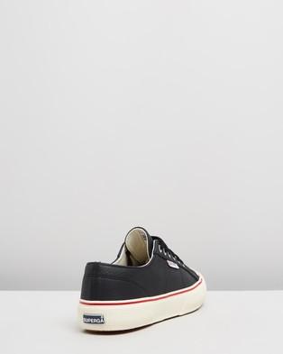 Superga 2490   Tumbled Leather   Men's - Sneakers (Black)
