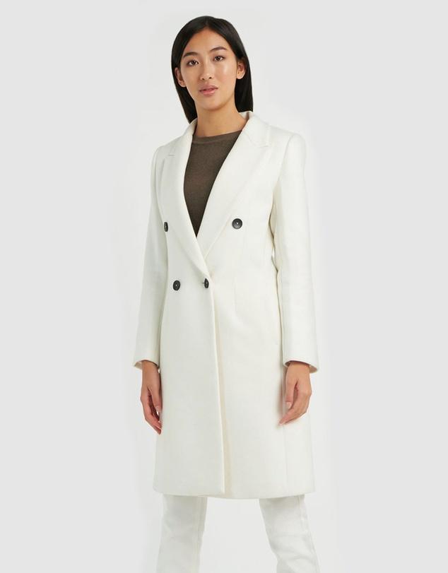 Women Katrina Double Breasted Coat