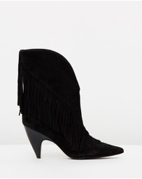 Giliana Fringe Booties
