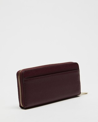 Kate Spade Margaux Slim Continental Wallet - Wallets (Deep Cherry)