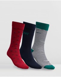 Gant - 3-Pack Mixed Giftbox Socks
