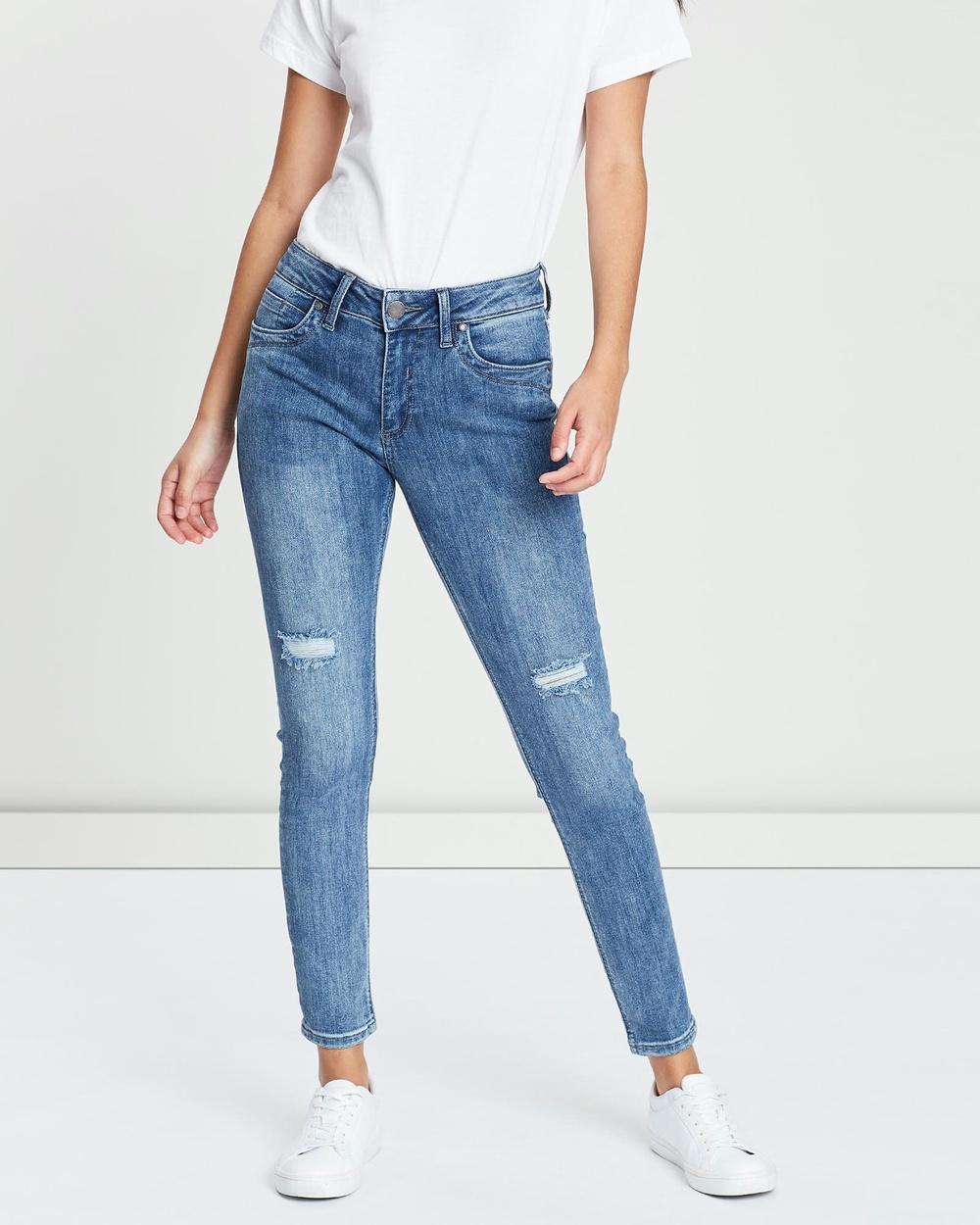 DRICOPER DENIM Lauren Denim Jeans Mid Wash Australia