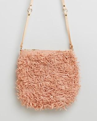 Sans Arcidet Paris Balagan Pile Poil Pocket Medium - Bags (Rose Poudre)