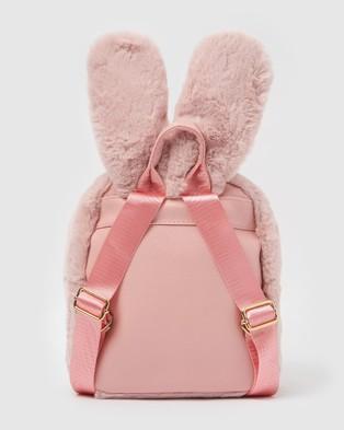 Izoa Kids Peta Rabbit Backpack - Bags (Pink)