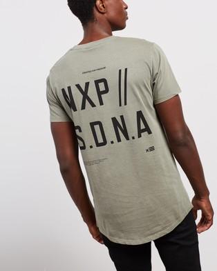 Nena & Pasadena Vision Scoop Back Tee - T-Shirts & Singlets (Khaki)