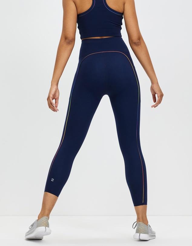 Women Power High Waist 7/8 Workout Leggings