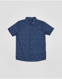 Rip Curl - Riff Short Sleeve Shirt - Kids