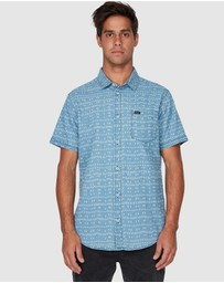 RVCA - Nakama Dot Short Sleeve Shirt