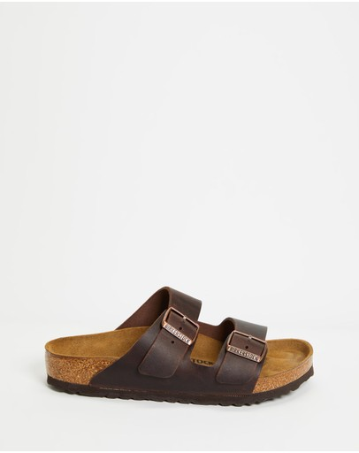 Birkenstock - Unisex Arizona Oiled Leather Regular Sandals