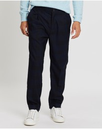 Scotch & Soda - Chic Pleated Wool-Blend Chinos