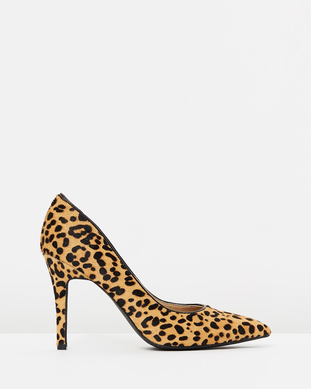 Atmos & Here ICONIC EXCLUSIVE Elaine Leather Pumps All Pumps Leopard Pony Hair ICONIC EXCLUSIVE Elaine Leather Pumps