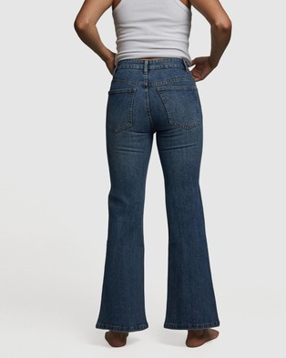 Cotton On Petite Flare Jeans - Flares (Lucky Blue)