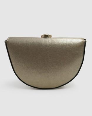 Morgan & Taylor Trisha Bag - Clutches (GOLD)