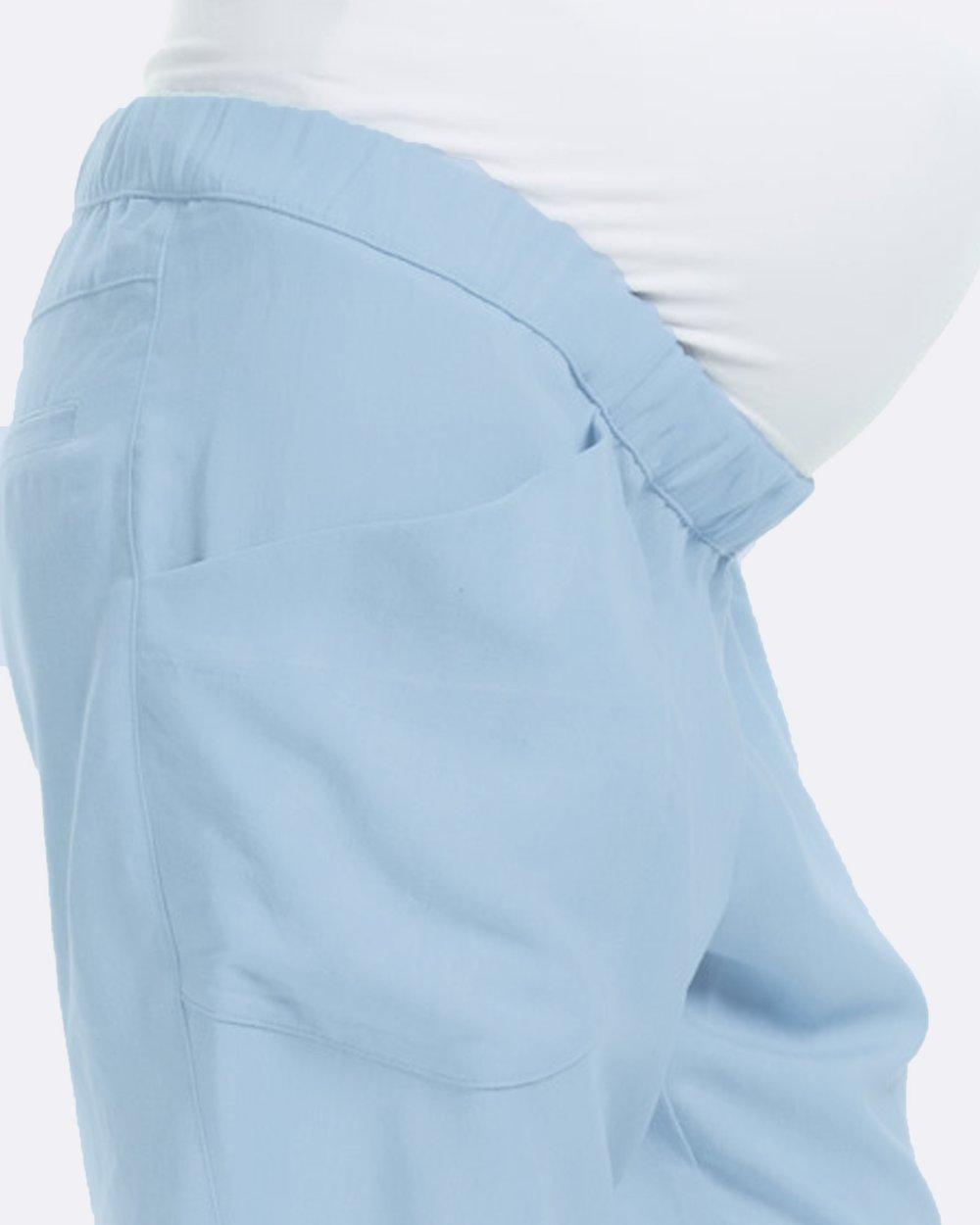 1de7e524dec1f Ava Chambray Pants by Soon Maternity Online | THE ICONIC | Australia