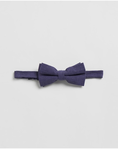 Double Oak Mills - Linen Bow Tie