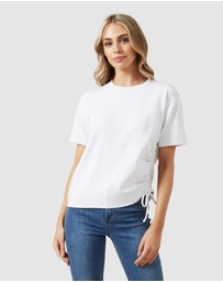French Connection - Ruched T Shirt