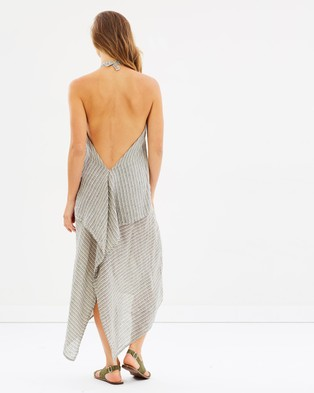 Estilo Emporio – Backless Dress Finezza Stripe