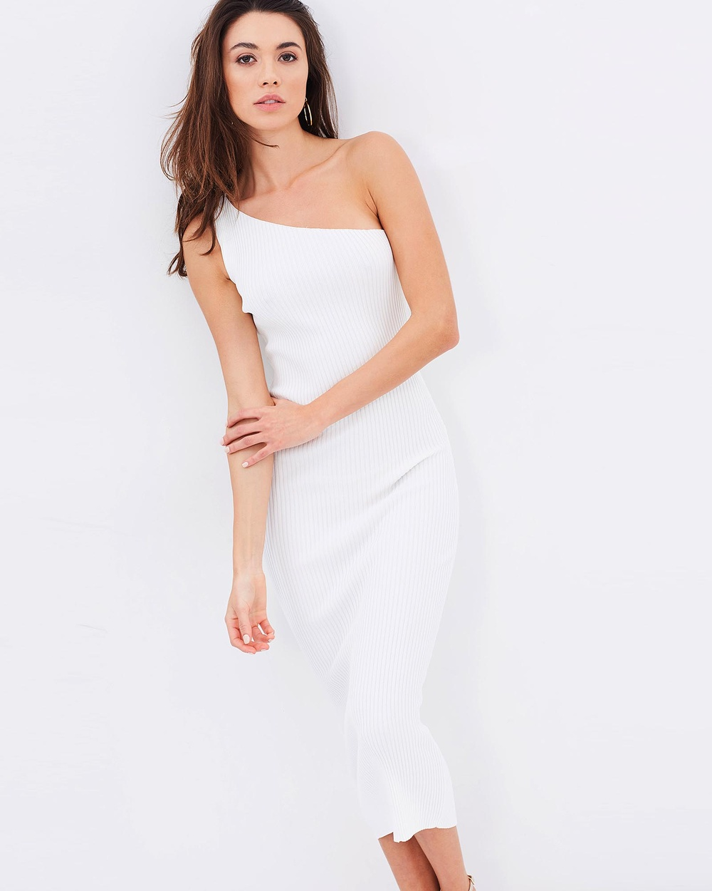 BSSA Goddess Dress Bodycon Dresses White Goddess Dress