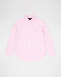 Polo Ralph Lauren - Solid Oxford Shirt - Teens