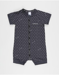 Bonds Baby - Wondercool SS Zip Wondersuit - Babies