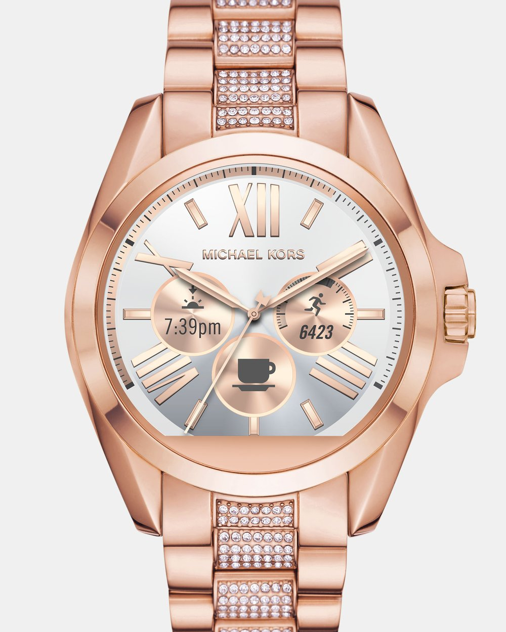 44a514611899 Smartwatch Bradshaw Rose Gold-Tone by Michael Kors Online