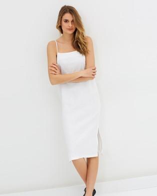 Assembly Label – Coast Dress White
