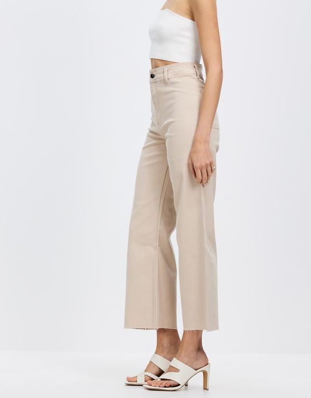 Women Organic Cotton Wide Leg Pants