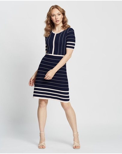 Marcs - Margot Milano Fit-and-Flare Dress