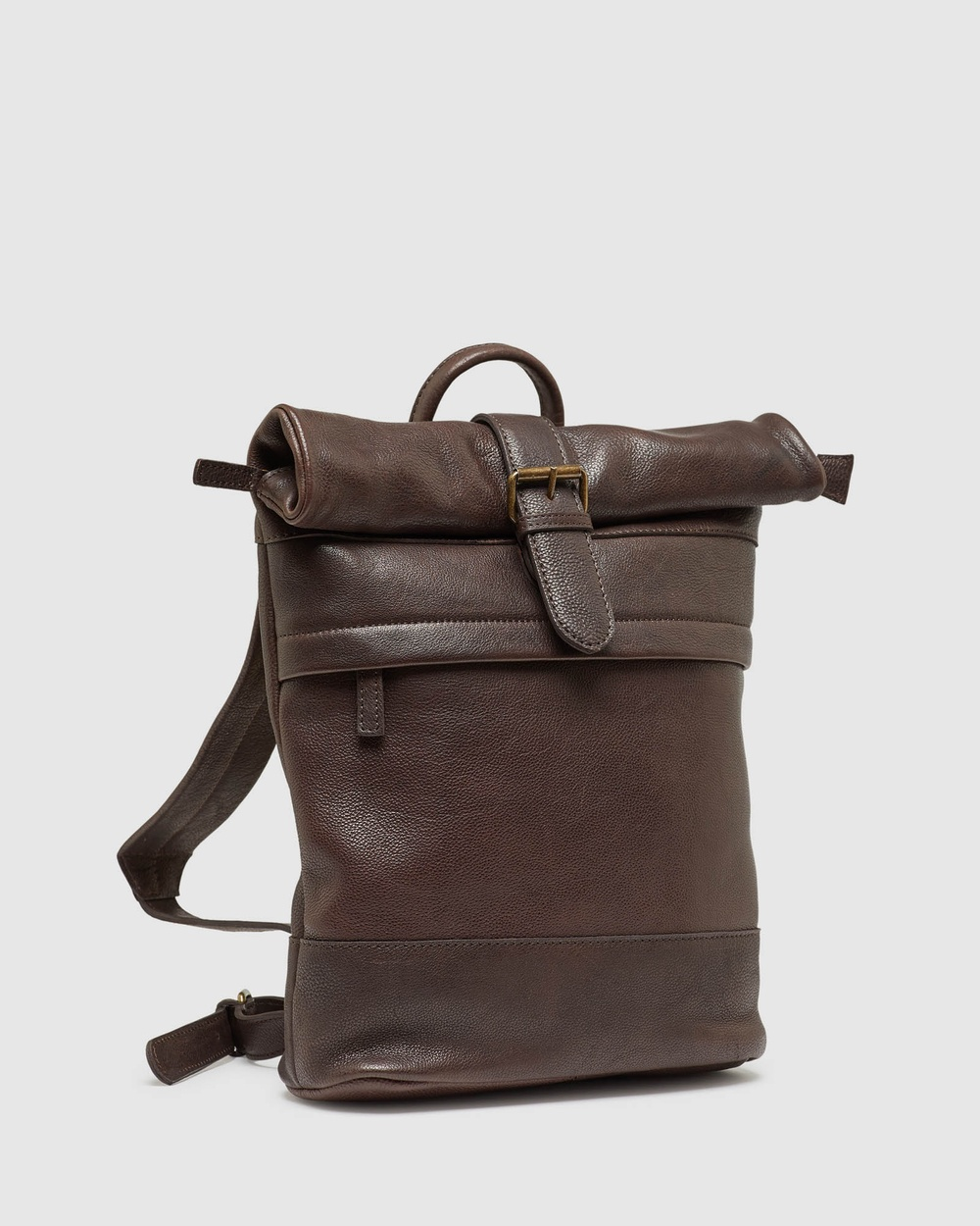 Oxford Angus Leather Back Pack Bag Bags Brown