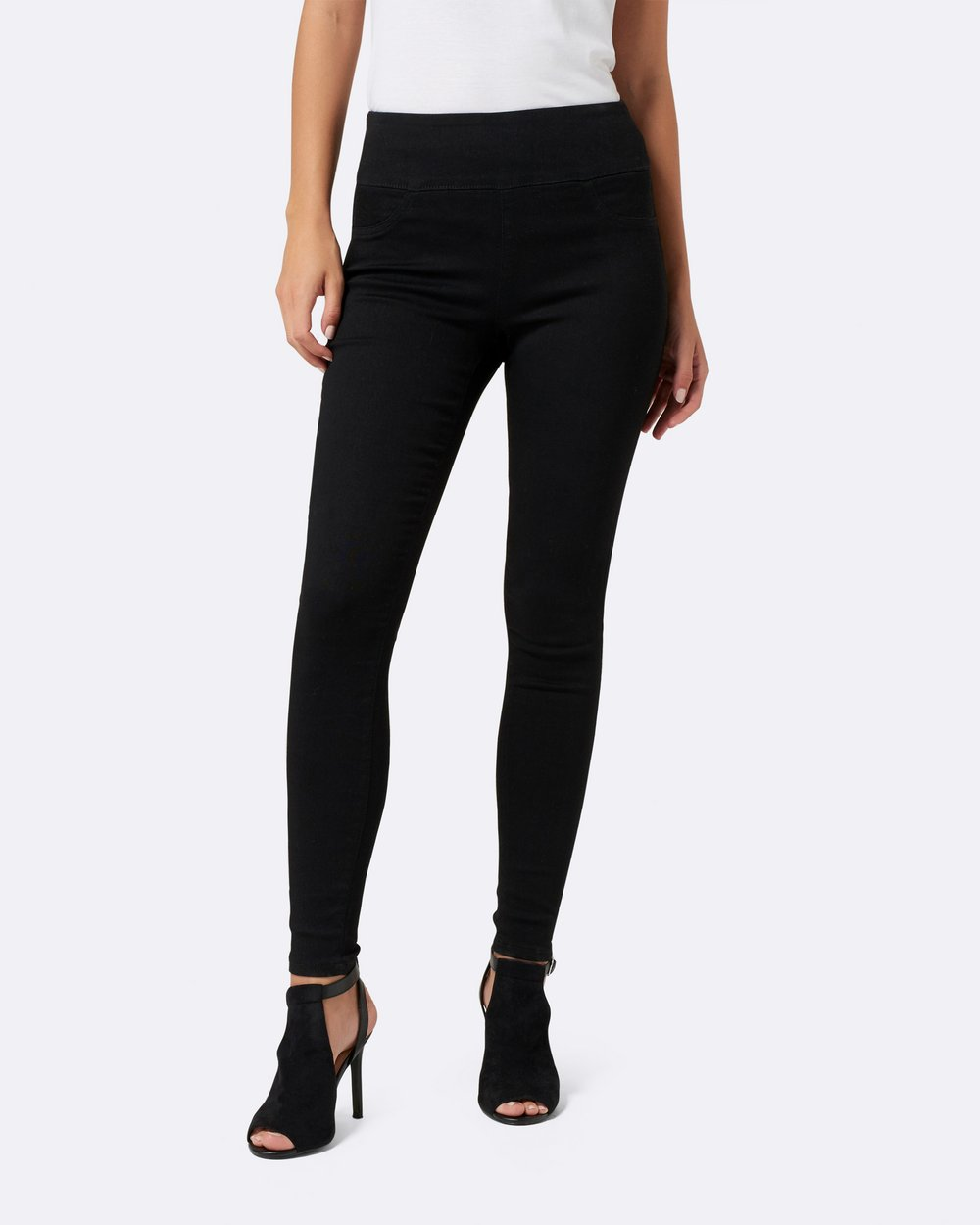 f35d3160c141c Carla High-Rise Jeggings by Forever New Online | THE ICONIC | Australia
